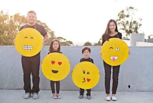 fantasias com emoji