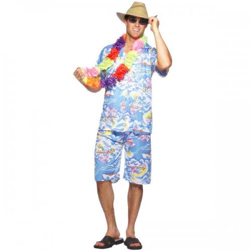 fantasias masculinas improvisadas havaiana