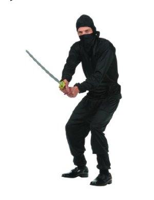 fantasias masculinas improvisadas ninja