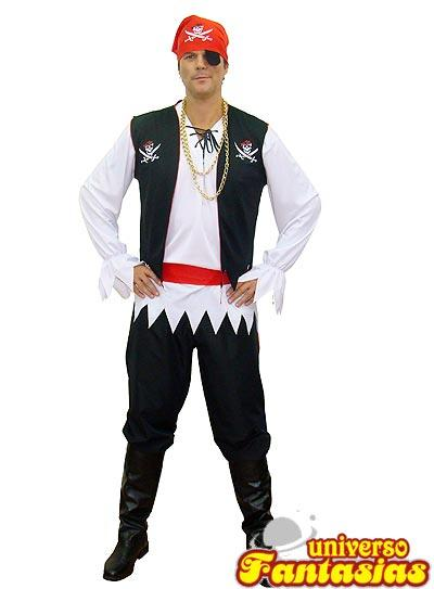 fantasua basica improvisada pirata