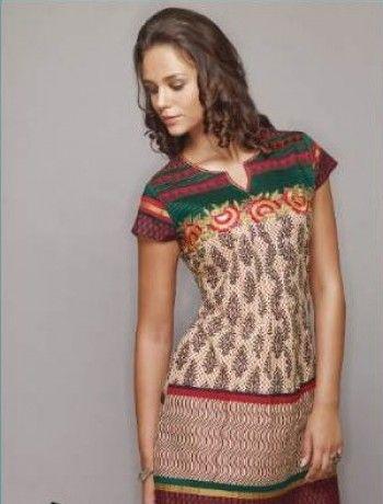 batas indianas moda estampa étnica