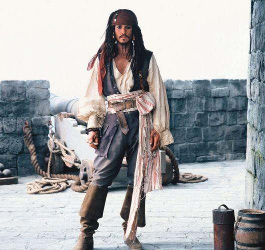 johnny deep jack sparrow