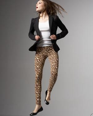 look com legging estampada animal print