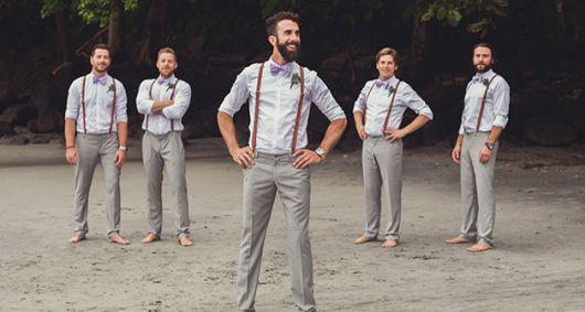 look para casamento na praia