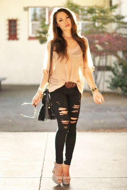 Looks Com Cal A Jeans Aprenda A Criar O Seu
