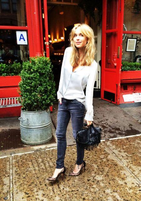 exemplo de looks com calça jeans para festa e balada