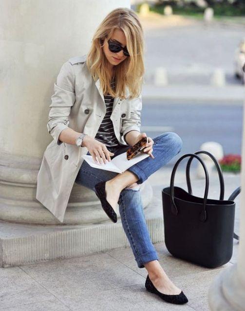 exemplo de looks com calça jeans e sapatilha