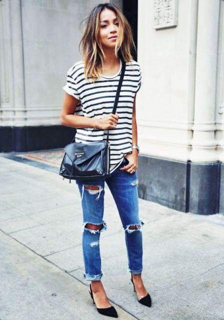 INSPIRAÇÃO: Looks com calça jeans