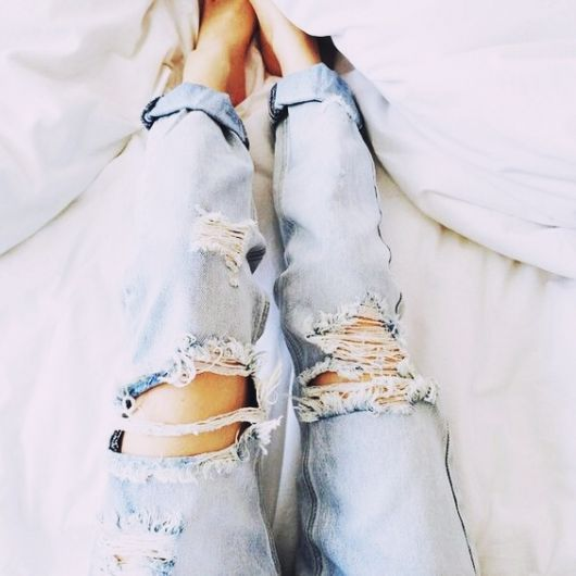 exemplo de looks com calça jeans imagem de conclusão