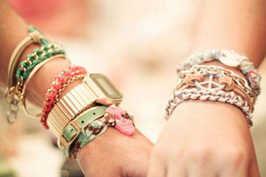 mix de pulseiras dicas de uso