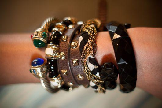 lindo mix de pulseiras