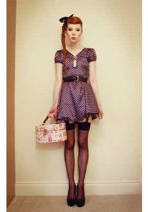 moda hipster feminina