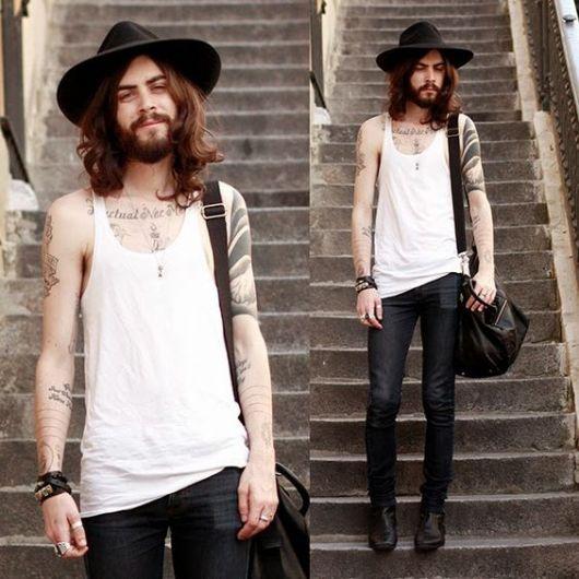 moda hipster homens