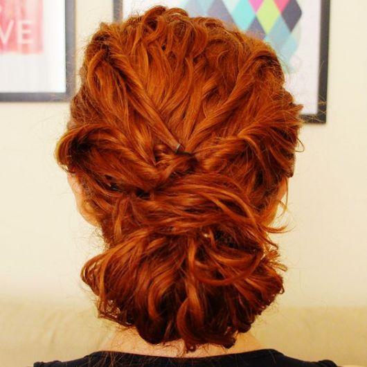 cabelo ruivo ondulado