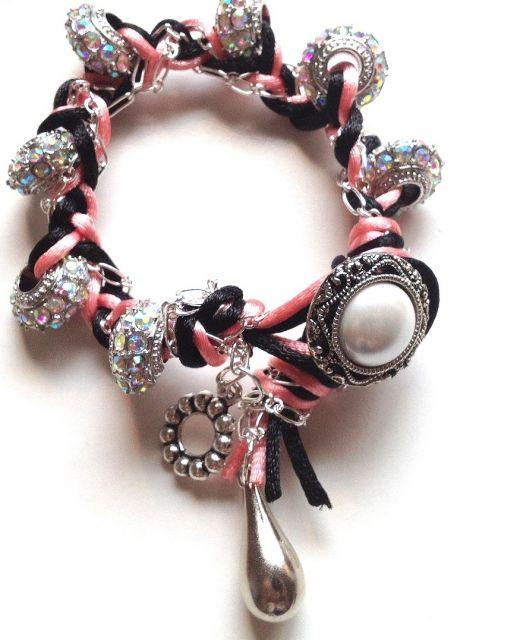 pulseiras da moda botões vintage
