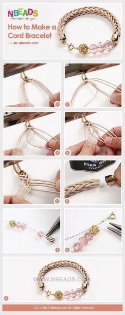 pulseiras da moda como fazer