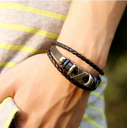 pulseiras da moda metal
