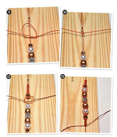 pulseiras da moda shambala passo a passo 3