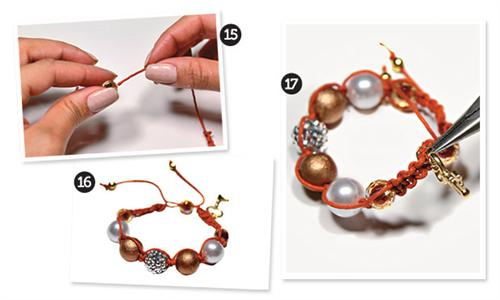 pulseiras da moda shambala passo a passo 4