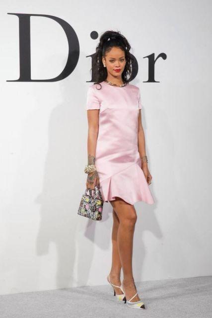 mini bags  da Dior com RIhana