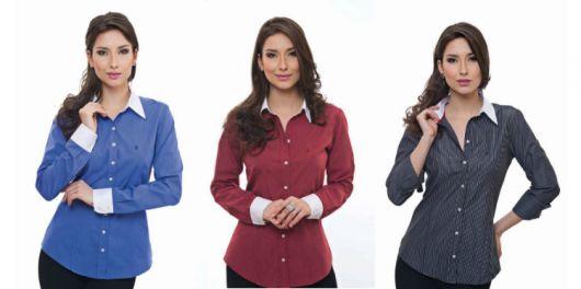 roupa social camisas coloridas