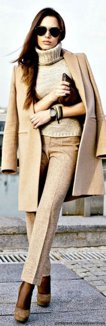 roupa social feminina de frio