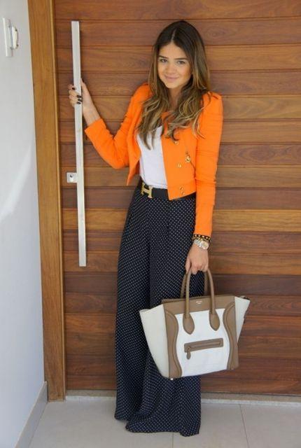 roupa social feminina pantalona