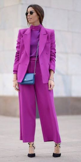 roupa social feminina pink