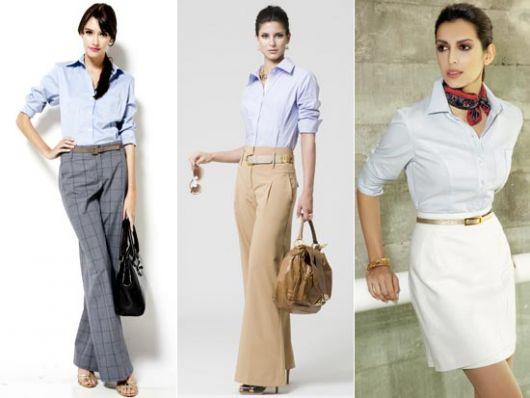 roupa social feminina sóbria