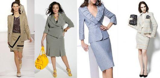 roupa social feminina tailleur