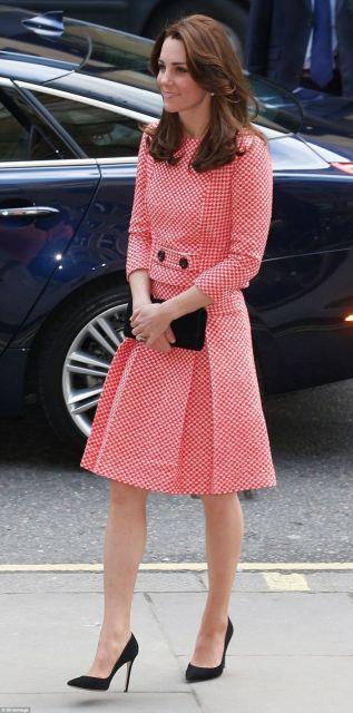 roupa social vestido midi rose