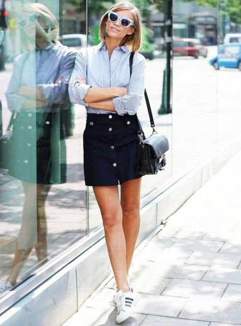 camisa look despojado