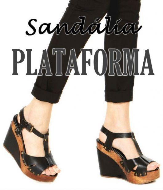 7f0f49bf0 Sandália plataforma: Combina? Veja mais de 70 looks!
