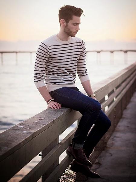 suéter masculino ambiente formal