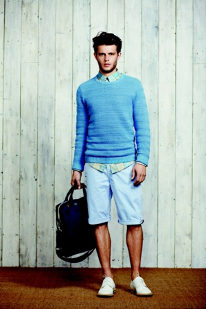 suéter masculino com bermuda casual