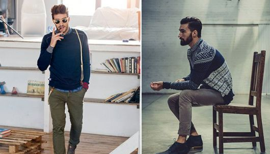 suéter masculino como usar casual