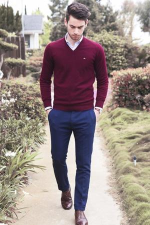 suéter masculino como usar formal