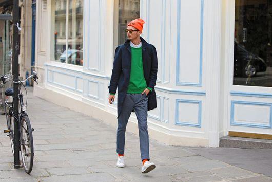 suéter masculino formal moderno