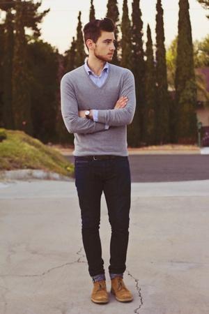 suéter masculino formal