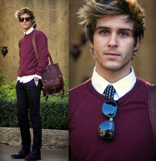 suéter masculino modelo formal
