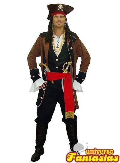 tipo de fantasia luxo pirata
