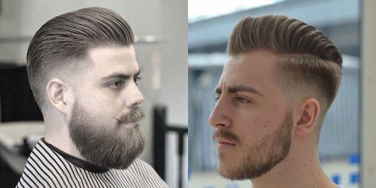 undercut e barba