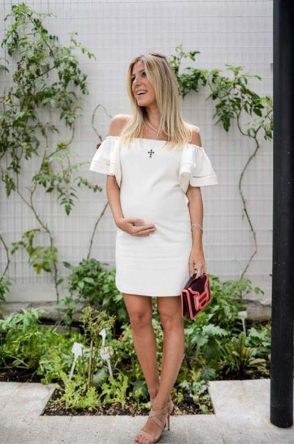vestido grávida