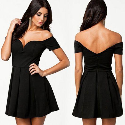 a33b4d12da vestido com decote nas costas com decote em formato coração