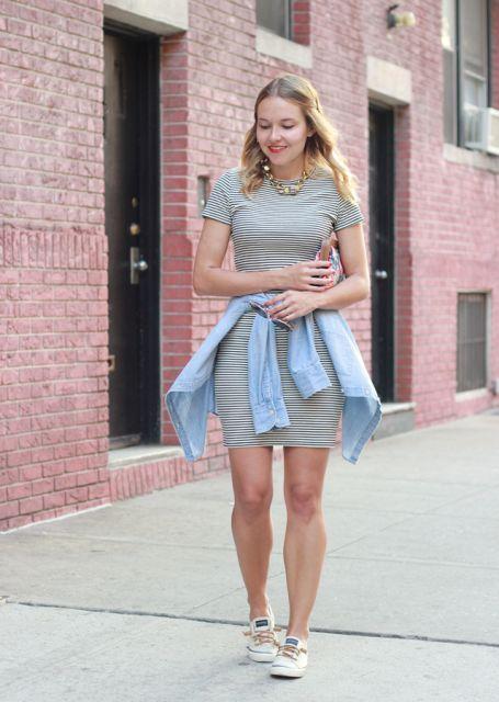 67d50c2cce Vestido com tênis  combina  Como usar  Fotos e looks incríveis!