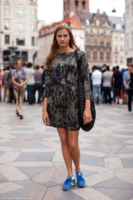 Vestido Com Tênis Combina Como Usar Fotos E Looks Incríveis