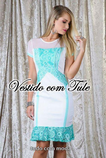 VESTIDO COM TULE / Tela: 50 Modelos e Looks incríveis!