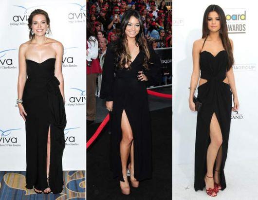 vestido-longo-com-fenda-preto famosas