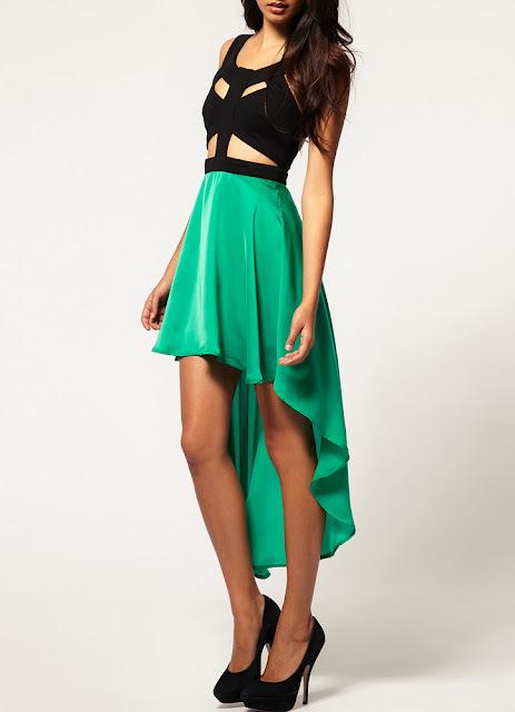 como escolher um vestido mullet