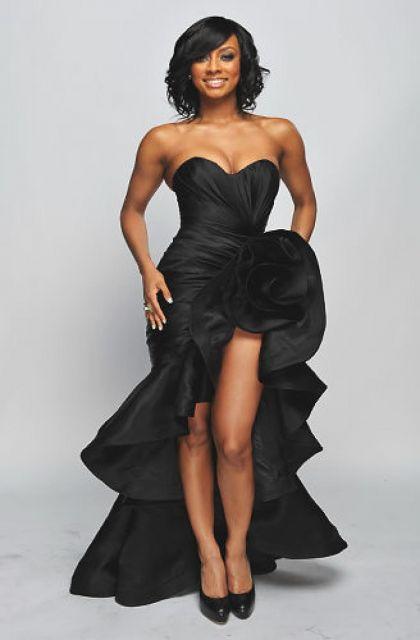 vestido mullet preto